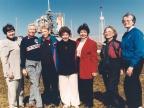 Siedem kobiet z projektu Mercury 13, od lewej: Gene Nora Jessen, Wally Funk, Jerrie Cobb, Jerri Truhill, Sarah Ratley, Myrtle Cagle i Bernice Steadman.   Image credit: NASA