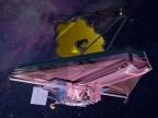 Artystyczna wizja Kosmicznego Teleskopu Jamesa Webba. Fot. Northrop Grumman