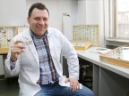 Dr Mariusz Kanturski jest laureatem XII edycji stypendiów przyznawanych przez Ministerstwo Nauki i Szkolnictwa Wyższego młodym, wybitnym naukowcom. Fot. Małgorzata Kłoskowicz