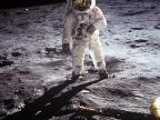 Zdjęcie Buzza Aldrina zrobione przez Neila Armstronga na Księżycu. Fot. NASA/Neil Armstrong