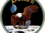 Emblemat Apollo 11. Fot. NASA