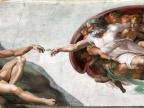 Sklepienie Kaplicy Sykstyńskiej – Stworzenie Adama