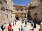 Bazylika Grobu Świętego w Jerozolimie. Fot. Agnieszka Sikora