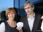 Dr hab. Irina Galuskina i dr hab. Evgeny Galuskin