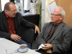 Prof. zw. dr hab. Andrzej Noras i prof. zw. dr hab. Krystian Roleder