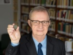 Prof. zw. dr hab. Wiesław Kaczanowicz z Instytutu Historii Uniwersytetu Śląskiego Fot. Sekcja Prasowa UŚ