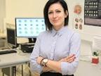 Dr Karina Maciejewska z Instytutu Fizyki Uniwersytetu Śląskiego. Fot. Małgorzata Kłoskowicz