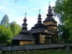 Drewniana cerkiew pw. śś Kosmy i Damiana z 1841 r. w Kotani (Foto: Olga Madejczyk)