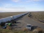 Zachodnia odnoga detektora LIGO w Hanford. Fot. Umptanum, CC BY-SA 3.0
