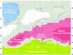 Regiony antycyklonalne w sektorze euroatlantyckim (1951–2010)