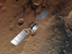 Orbiter Mars Express. Credit: ESA/ATG medialab; Mars: ESA/DLR/FU Berlin, CC BY-SA 3.0 IGO
