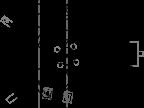 Schemat mechanizmu na podstawie przestarzałej już dzisiaj rekonstrukcji Dereka J. de Solla Price'a. Fot. wikipedia.org.