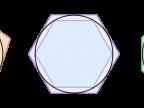 Metoda aproksymacji liczby π zaproponowana przez Archimedesa. Fot. wikipedia.org