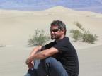 Dr Michał Zatoń w Death Valley w Kalifornii, USA