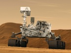 Łazik Curiosity na powierzchni Marsa. Fot. NASA / JPL-Caltech