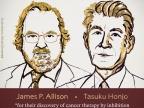 Szkicowane sylwetki laureatów. Źródło: www.nobelprize.prg