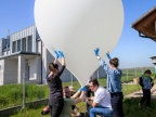 Start balonu stratosferycznego. Fot. Konrad Halastra