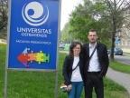 Dr Monika Noszczyk-Bernasiewicz oraz dr Maciej Bernasiewicz. Fot. Maciej Bernasiewicz