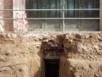 Wejście do grobowca pod schodami Curii. Foto: Parco Colosseo