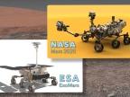 Łaziki Mars 2020 i ExoMars zapoczątkują nową erę badań Marsa. Credit: NASA/JPL-Caltech