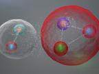 Ilustracja możliwych układów w pentakwarku. Fot. CERN