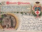 List z Ziemi Świętej do rodziny Augusta Pogorzelskiego z 1907 roku. Fot. zbiory prywatne