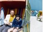 Stanisław Lem z synem Tomaszem (1977 rok). Fot. Copyright by Tomasz Lem