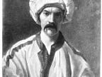 Richard Francis Burton w stroju perskim jako Mirza Abdullah the Bushri. Fot. Public Domain
