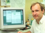 Sir Tim Berners-Lee, wynalazca World Wide Web, w czasie pracy w CERN