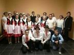 """… oraz zespół KUD """"Višljani iz Ostojićeva"""" (""""Wiślanie z Ostojićewa"""", kierownik: Monika Krak) Fot. dr Katarzyna Marcol."""