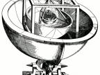 """Model Układu Słonecznego Keplera w oparciu o bryły platońskie z """"Mysterium Cosmographicum"""" (1596) (Foto: wikipedia.org)"""