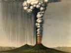 Wybuch Wezuwiusza na obrazie George'a Juliusa Pouletta Scrope'a