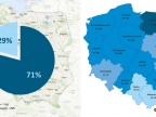 Udział wód podziemnych w zaopatrzeniu ludności w Polsce (2013 r.). Fot. Uniwersytet Śląski