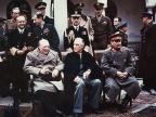 Winston Churchill, Franklin Delano Roosevelt i Józef Stalin na konferencji w Jałcie (1945) / Fot. wikipedia.org