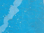 Mapa nieba zimowego. Rys. Jacek Szczepanik