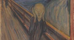 """Edvard Munch, """"Krzyk"""" (1893, olej na kartonie)"""