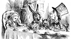 """Alice in Wonderland"" illustration №25 by Tenniell (fot. domena publiczna)"