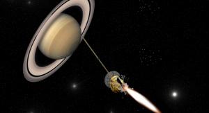 Sonda Cassini-Huygems zbliża się do Saturna – wizja artystyczna. Fot. ESA