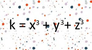 Zagadka Diofantosa: czy można otrzymać dowolną liczbę całkowitą z sumy sześcianów trzech liczb całkowitych? Źródło tła: domena publiczna