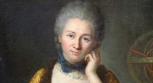 Émilie du Châtelet  (obraz Maurice'a Quentina de La Tour). Fot. wikipedia.org.
