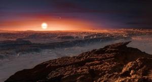 Artystyczna wizja planety okrążającej Proximę Centauri. Fot. ESO/M. Kornmesser