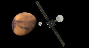 Artystyczna wizja Trace Gas Orbiter wchodzącego w skład misji ExoMars. Fot. ESA/ATG medialab