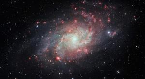 Obraz Galaktyki Trójkąta. Credit: ESO