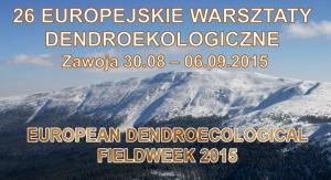 26. Europejskie Warsztaty Dendroekologiczne