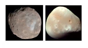 Fobos i Deimos. Źródło: Wikipedia
