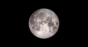 Pełnia Księżyca. Fot. NASA