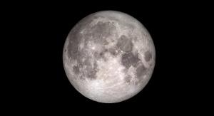 Księżyc w pełni. Credit: NASA