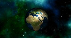 Planeta Ziemia na tle kosmosu. Fot. Pixabay