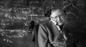 Stephen Hawking. Źródło fotografii: Cambridge University. Credit: Andre Pattenden
