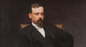 Kazimierz Pochwalski, Portret Henryka Sienkiewicza, 1890r.